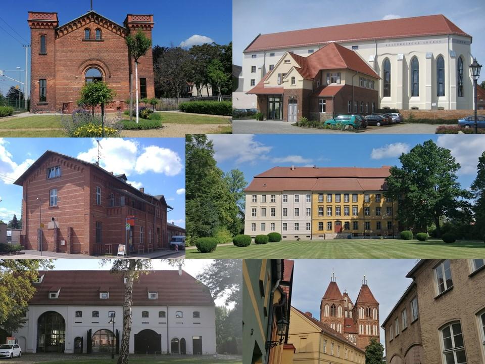 Kulturdreieck Dahme-Spreewald mit den Standorten Luckau, Halbe und Lieberose